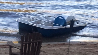 1710 paddle boat